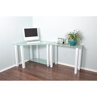 Cerritos Corner Writing Desk by Ebern Designs Great price