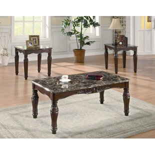 Jugo 3 Piece Coffee Table Set Wildon Home ?
