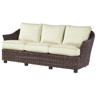 Sonoma Sofa With Cushions by Woodard Modern