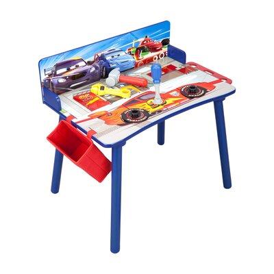 Disney Pixar Cars Work Kids Rectangular Arts And Crafts Table