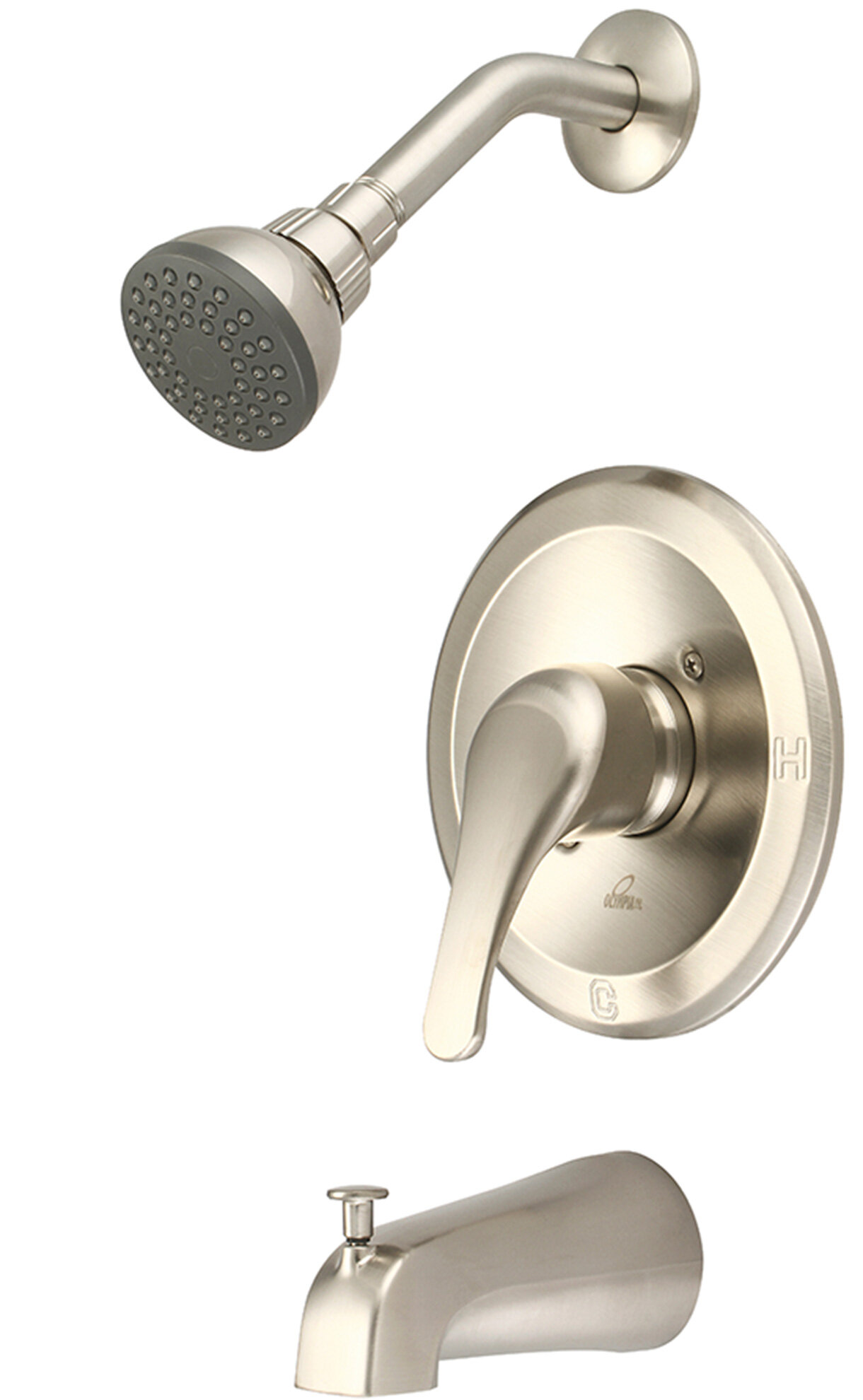 Olympia Faucets Elite Single Handle Volume Control Tub And Shower Faucet Wayfair