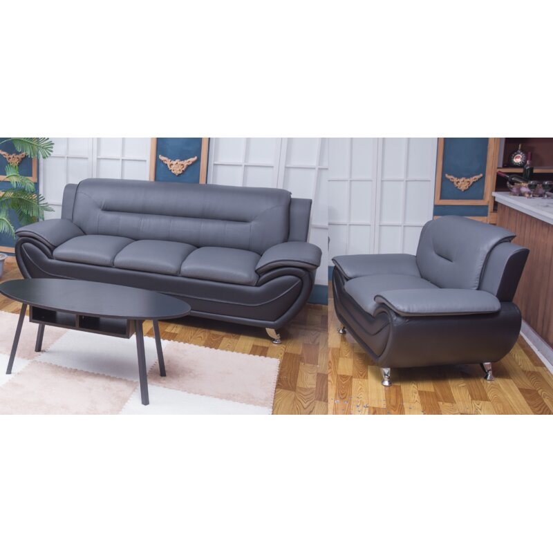 Ginsburg 2 Piece Living Room Set