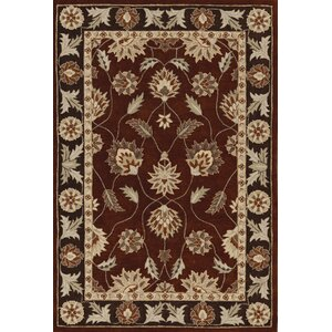 Galleria Copper Floral Area Rug