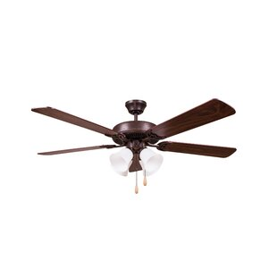 Savings 52 Eastgate 5-Blade Ceiling Fan By Charlton Home