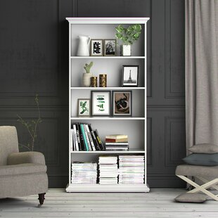 Suzette Standard Bookcase by Highland Dunes Wonderful