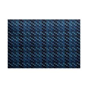 Liam Blue Indoor/Outdoor Area Rug