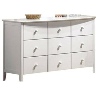 Mogensen Rounded Top Edge 9 Drawer Double Dresser by Red Barrel Studio