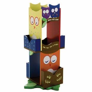 Wildkin Owls Revolving 30 Bookcase by Wildkin