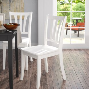 Pico Modern Solid Wood Dining Chair (Set of 2) Alcott Hill
