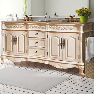 Svetlana 72 Double Sink Cabinet Bathroom Vanity Set By One Allium Way