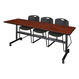 Symple Stuff 84 Quot W Hendrix Training Table With Chairs