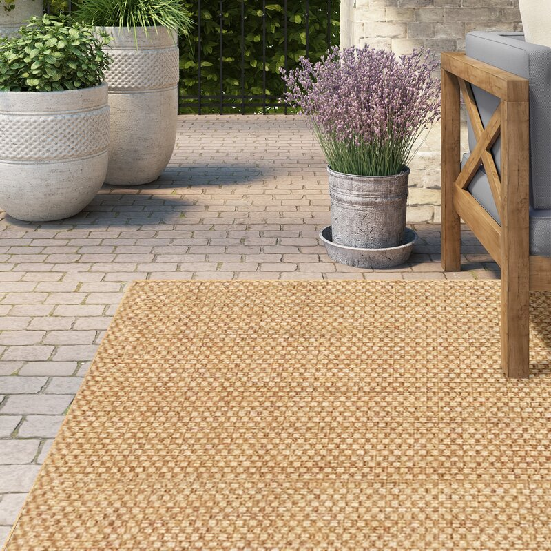 Lark Manor Orris Sand Indoor Outdoor Area Rug Amp Reviews