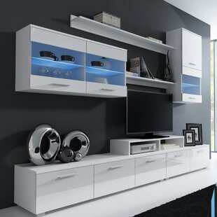Andrea Entertainment Center For TVs Up To 60