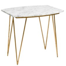 Hairpin End Table by Worlds Away