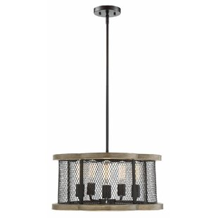 Breann 5-Light Drum Chandelier