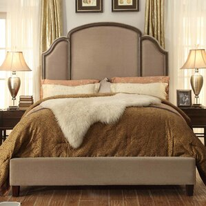Ricca Queen Upholstered Panel Bed by Mulhouse Furniture