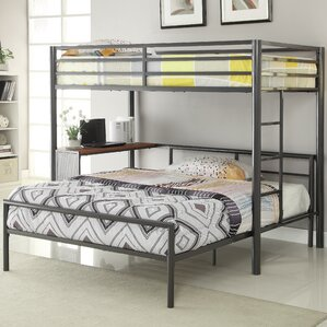 Twin Over Full L-Shaped Bunk Bed by Wildon Home ?