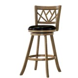 Rickey Swivel Bar & Counter Stool by Millwood Pines