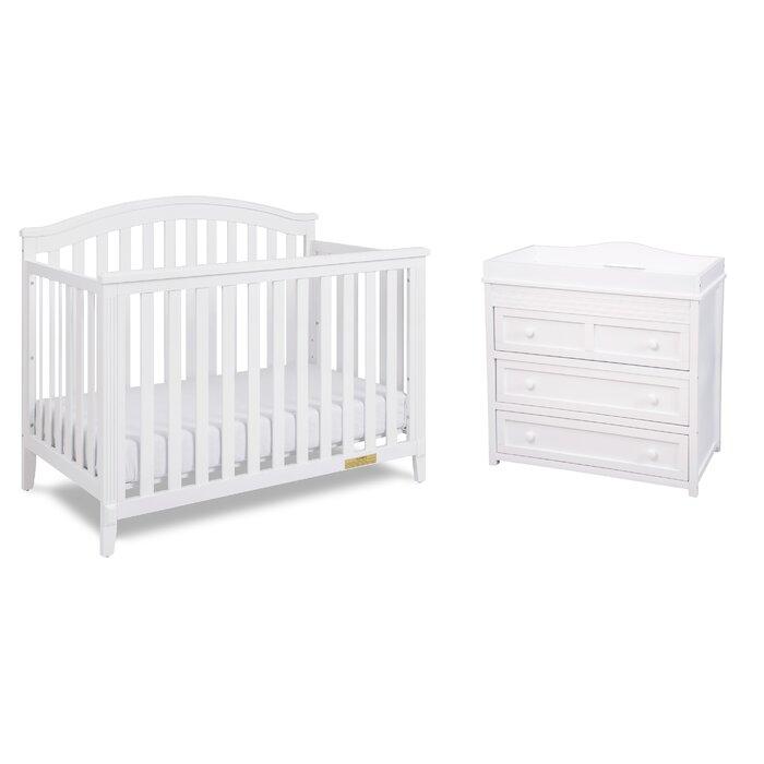 Kali Convertible Standard 2- Piece Nursery Furniture Set