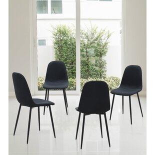 Mickel Elegant Upholstered Dining Chair (Set of 4)