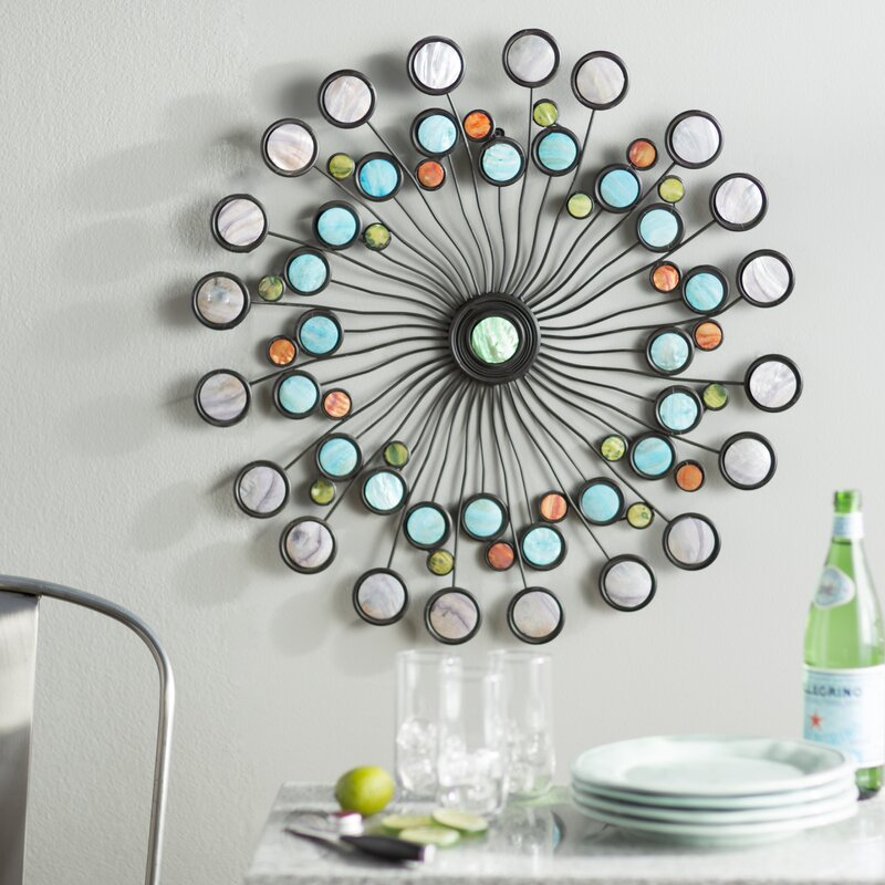 Latitude Run Modern Metal Wall Décor & Reviews | Wayfair