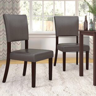 Lower Shockerwick Upholstered Dining Chair (Set of 2) Latitude Run