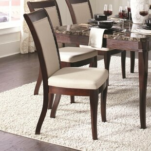 Kopf Wood Upholstered Dining Chair (Set of 2)