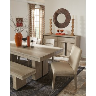 Kadence Upholstered Dining Chair (Set of 2) Loon Peak