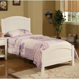 Reviews Concord Dreamy Transitional Twin Panel Bed by Harriet Bee Reviews (2019) & Buyer's Guide