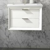 Draven 24 Wall-Mounted Single Bathroom Vanity Set by Everly Quinn