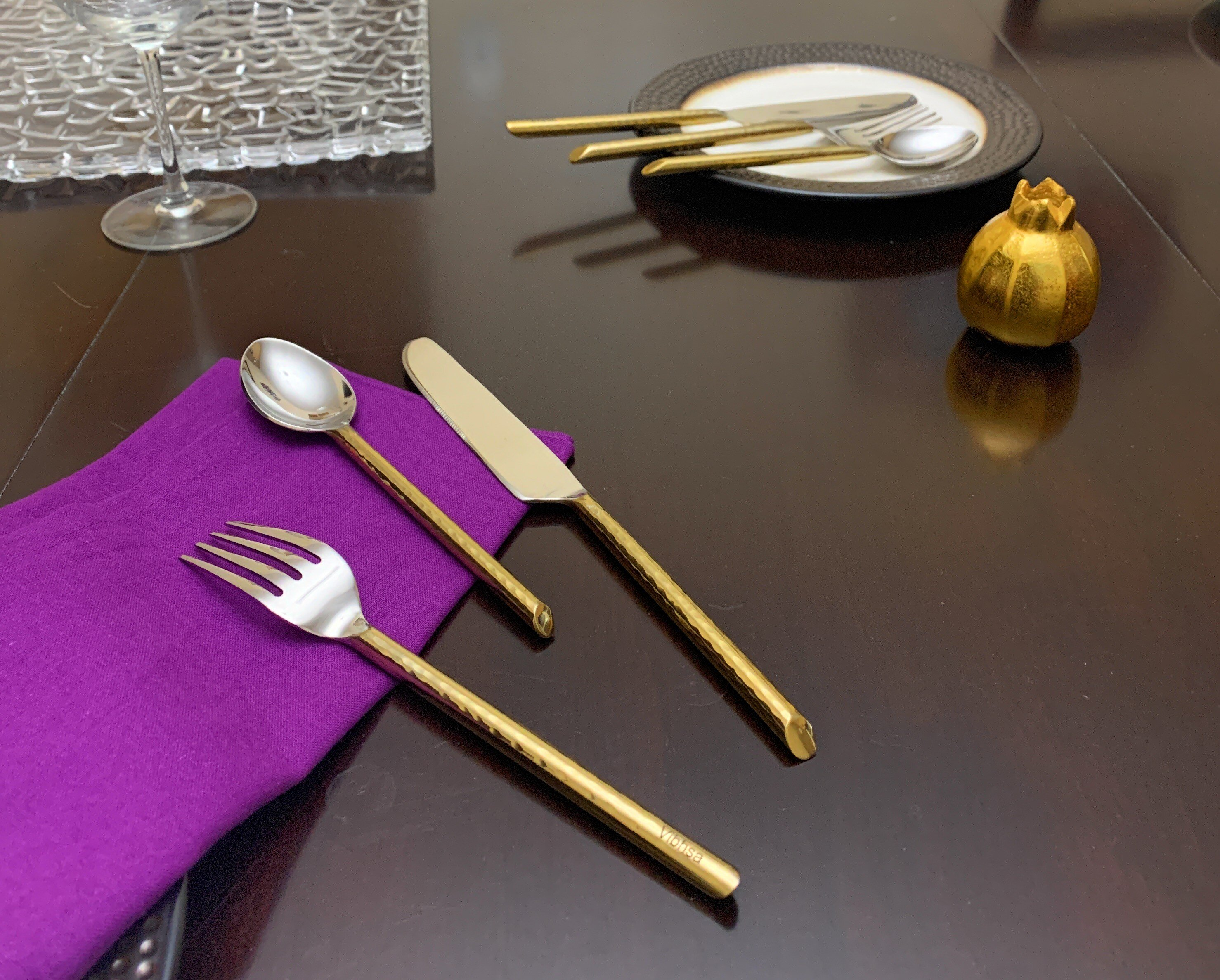 Gold India Flatware Sets You Ll Love In 2021 Wayfair