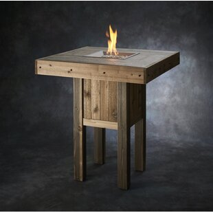 Westport Pub Wood Gas Fire Pit Table