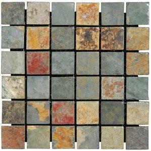 California 2 X Slate Mosaic Tile