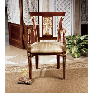 British Colonial Plantation Fabric Armchair ..