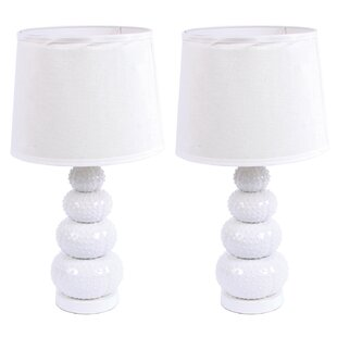 Stacked Urchin 22 Table Lamp (Set of 2)