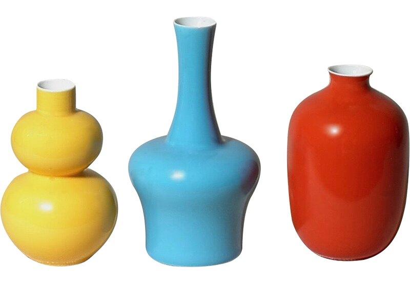3 Piece Mini Bud Vase Set Allmodern
