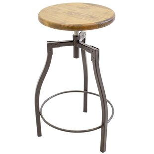 Himrod Adjustable Height Swivel Bar Stool Williston Forge