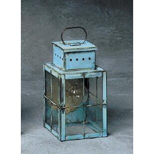 Best Reviews Wildes 1-Light Outdoor Wall Lantern By Breakwater Bay