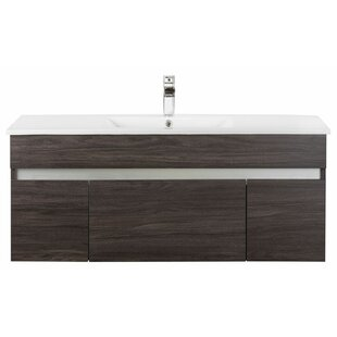 Ivory Floating 48 Single bathroom Vanity by Cutler Kitchen & Bath