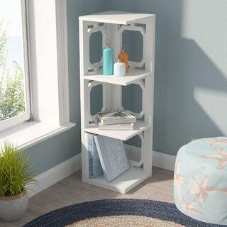 Ardenvor Corner Bookcase by Beachcrest Home SKU:BE572286 Shop