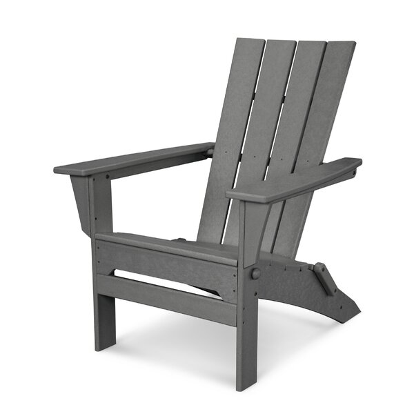 POLYWOOD® Quattro Plastic Folding Adirondack Chair U0026 Reviews | Wayfair