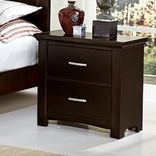 Bertram 2 Drawer Nightstand by Darby Home Co