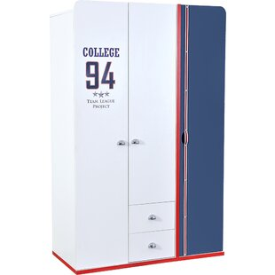 Reviews Leda 3D Wardrobe Armoire by Zoomie Kids Reviews (2019) & Buyer's Guide