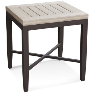 Luciano Aluminum Side Table