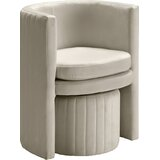 Modern & Contemporary Bedroom Chair With Ottoman | AllModern