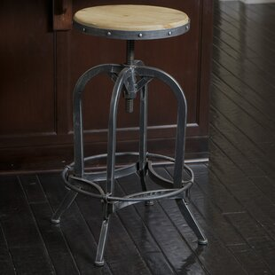 Kevin Adjustable Height Bar Stool by Laurel Foundry Modern Farmhouse