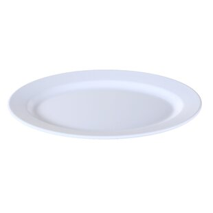 Hahn Catering Oval Melamine Platter (Set of 6)