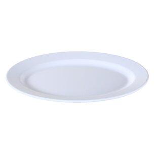 Hahn Catering Oval Melamine Platter (Set of 6)