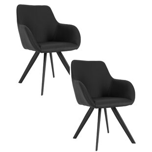 Clearance Cathy Upholstered Dining Chair (Set of 2) by Brayden Studio Reviews (2019) & Buyer's Guide