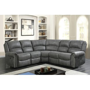 Frink Reclining Modular Sectional Red Barrel Studio